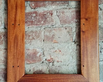 Reclaimed Mahogany Picture Frame