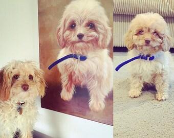 Custom Pet Portrait - Animal Portrait - Original Oil Painting - Pet Memorial Painting - Dog Painting - Custom Dog Painting - Dog Lover Gift