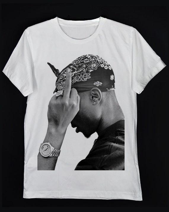 side of rapper tupac amaru shakur 2pac pac makaveli digital. Black Bedroom Furniture Sets. Home Design Ideas