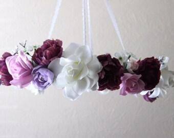 Purple Flower Mobile