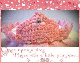 Princess Crown. Hand made crochet