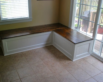 Corner bench, kitchen seating