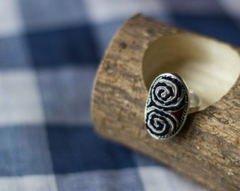 Miao's Embroidery  Ring