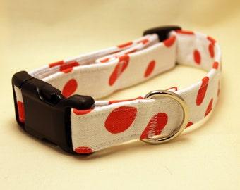 Red Dalmatian Collar