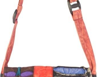 Hand Made Women Shoulder Length Bag Peace & Love Sign (ST711)