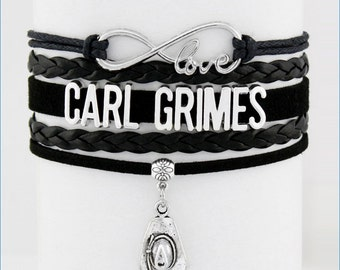 CARL GRIMES Infinity Love Bracelet