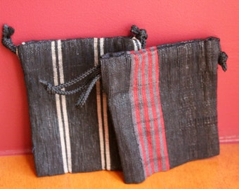 Hand Woven Change Purse - Recycled plastic bag