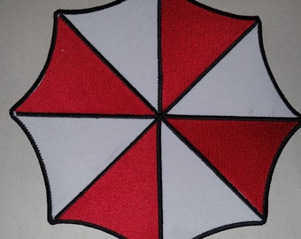 New Large Resident Evil Umbrella Insignia embroidered iron on back Patch
