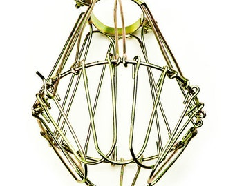 Brass Wire Lamp Guard - Add on item only.