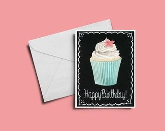 5x7 Happy Birthday Card -