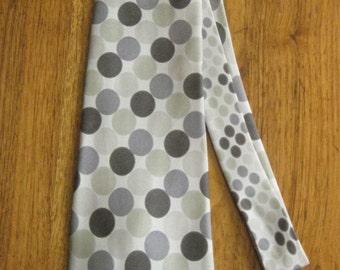 Gene Meyer Gray Dots Necktie