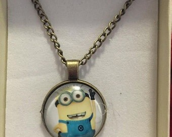 Minion necklace - gift boxed