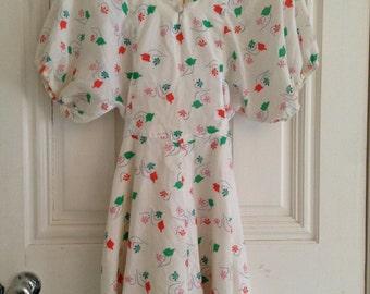Vintage tea dress 1960's
