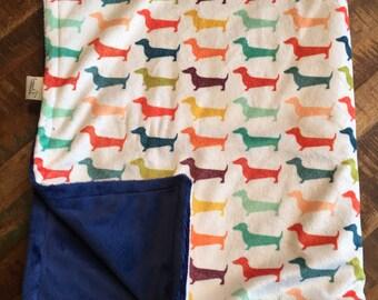 Custom Minky baby/child super soft blanket