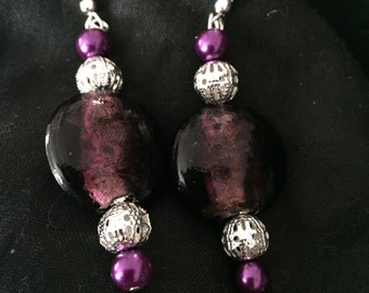 Beaded jewellery set