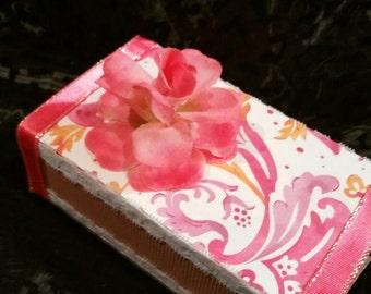 Pink Paisley Petals