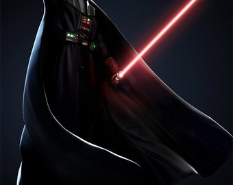 Darth Vader Poster, Star Wars Poster