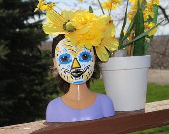 """Sugar Skull Día de los Muertos Doll """"Emelia"""""""