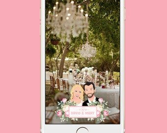 Snapchat Wedding Filter and No Submission to Snapchat | Wedding Geofilter | Snapchat Filter | Wedding Gift | Wedding Snapchat Filter