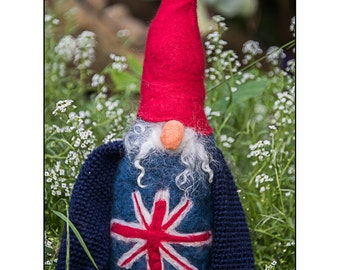 Australian  Needle Felted Gnome