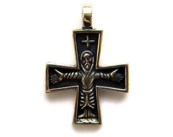 Pendant christian cross 2 religious cross like this item aloadofball Image collections