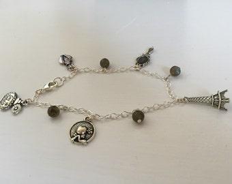 Paris Charm Bracelet