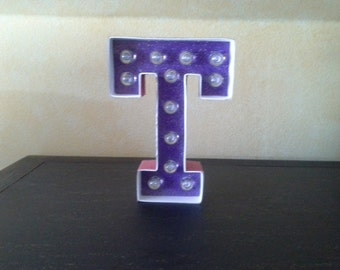 Letter T Marquee Light