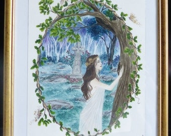 CRANN BETHADH, the Priestess and the tree of life