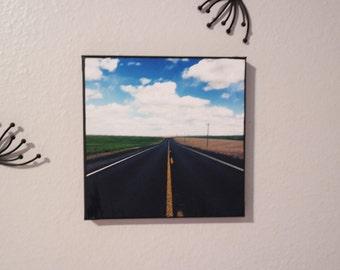 Open Road Canvas Art