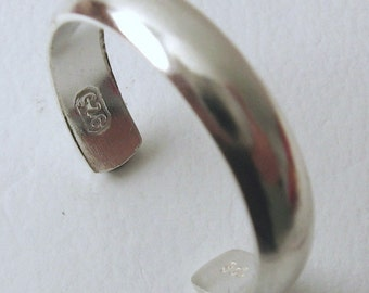 Genuine SOLID 925 Sterling Silver Toe Ring