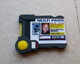 Fifth Element Multipass ID Badge
