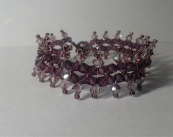 Amethyst 'PRIESTESS' bracelet