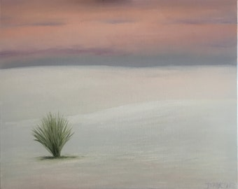 White Sands Evening Study