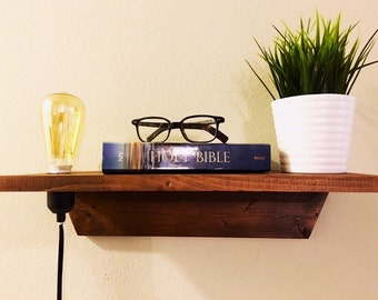 Floating Nightstand (Cord Included)