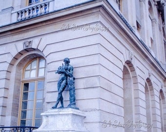 Paris Photography. Versailles Statue. Palace of Versailles. Château de Versailles. Architecture. France. Fine Art Giclee. Wall Art.