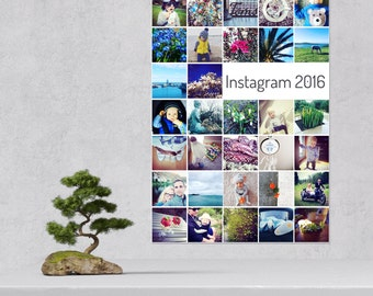 Personalised Instagram Photo Poster