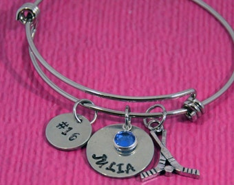 Field Hockey Bracelet | Field Hockey Gifts | Gift for Field Hockey | Field Hockey Gift Idea | Field Hockey Charm | Field Hockey Jewelry |