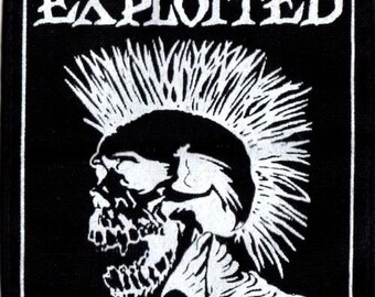 EXPLOITED (600) punk patch