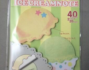 Ice Cream Sticky Note Pad