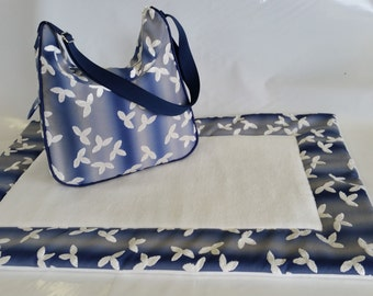 Baby changing bag and play mat