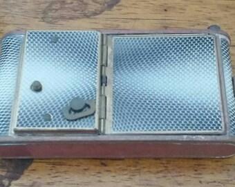 Vintage Music Box Compact Lipstick Purse 1930s