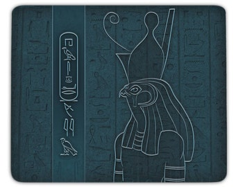 Mousepad Horus - personalized with your name in hieroglyphs