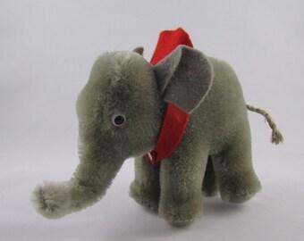 Steiff Elephant, vintage, mohair.