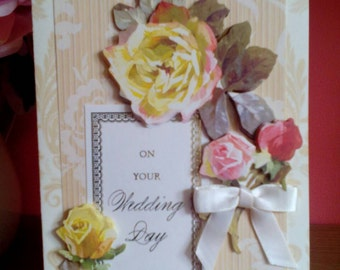 """Greetings Card - """"On Your Wedding Day"""""""