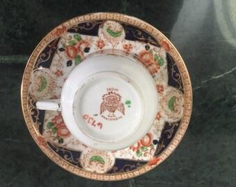 Elegant Phoenix Bone China Luncheon Set