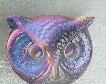 Chameleon Owl Brooch, Owl Brooch, Color Shifting, Unique Brooches, Brooches