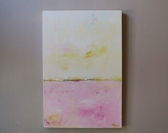 wall decor,abstract landscape.seascape,Original painting,modean ,Acrylic painting, minimal painting, minimal art
