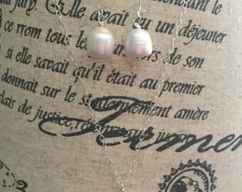 Fresh Water Pearl Jewelry Set