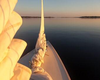 Sailingboat in the Swedish Archipelago