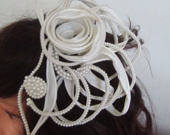 Acconciatura sposa matrimonio perle  wedding hairstyle white pearls